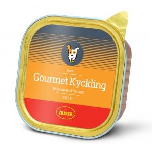 Gourmet Kyckling 狗狗濕糧,優質美食系列,主食罐, 肉醬(雞肉),: 300 g