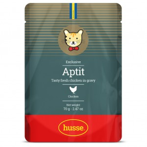 Aptit Chicken 好味新鮮雞胸肉連湯汁 - 貓貓濕糧副食包, 70g