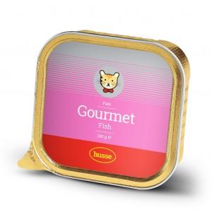 Gourmet Fish 貓貓濕糧,優質美食系列,主食罐, 肉醬,魚味: 100g