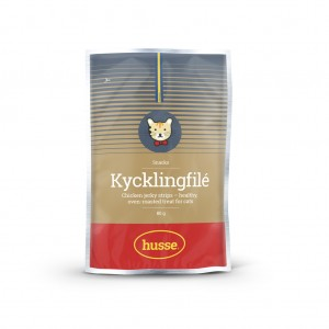 Katt Kycklingfilé 雞肉乾: 80 g