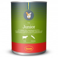 Pâté Junior 全天然狗狗濕糧 (幼犬主食罐) 小牛肉和人參: 400 g