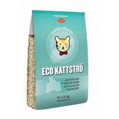Eco Kattströ 環保 雲杉松木貓砂: 14 L/9kg