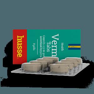 Vermi Tabs: 8 Pills Pack